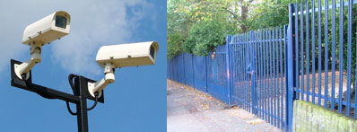 Security Fencing and CCTV Cameras