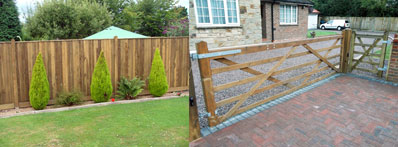 Driveway or Garden Fencing and Gates