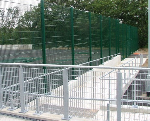 Handrail and railings