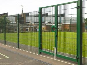 868 or 656 mesh security gates