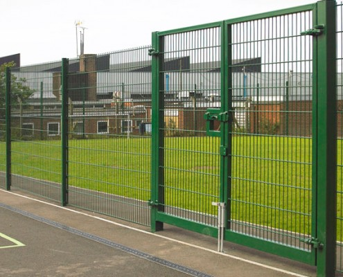 868 or 656 mesh security gates
