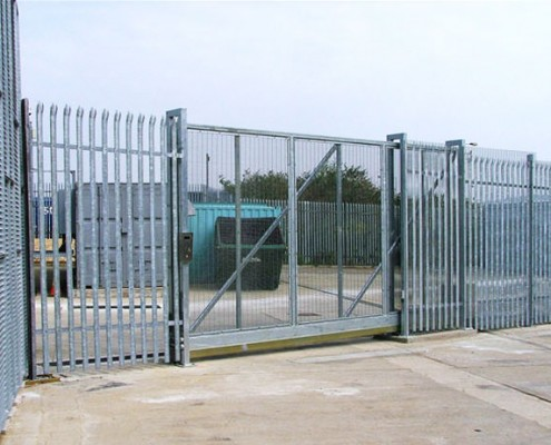 Anti-Climb Cantilever Sliding Gates