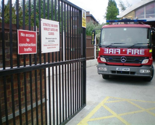 Automated Gates for Emergency Services
