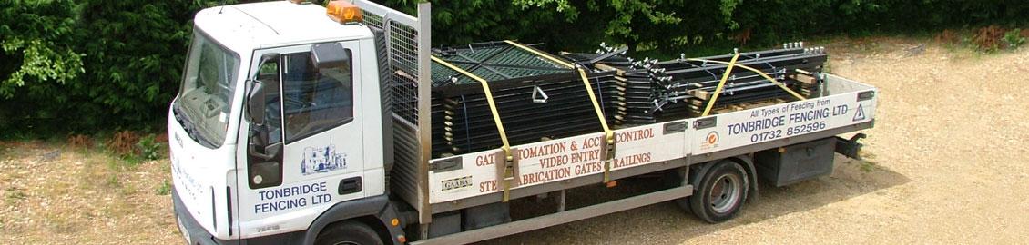 Tonbridge Fencing Truck