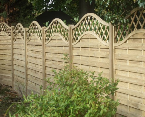 Continental panel fencing