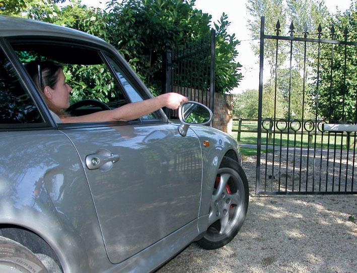 Operating automated entrance gates