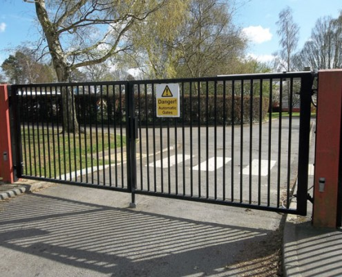 School automated gates