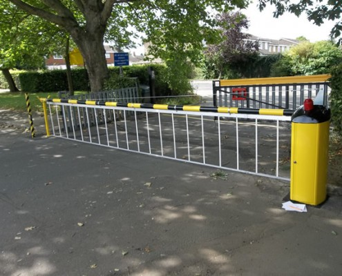 Automated Rising Arm Barrier