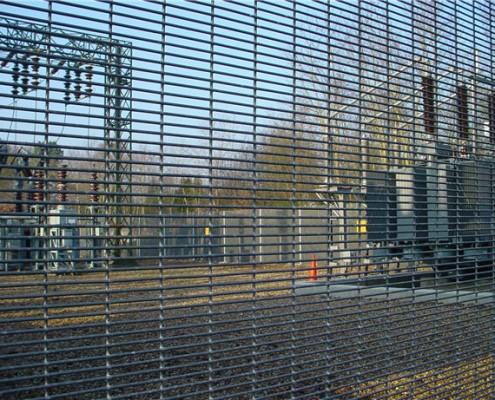 anti climb galvanised prison mesh