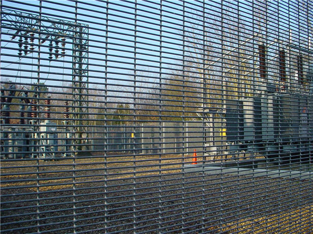 Anti Climb Galvanised Prison Mesh Tonbridge Fencing