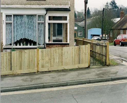 standard closeboard fencing 1.05 metre tall