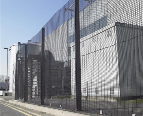 industrial 358 security mesh fencing