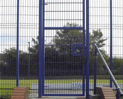 single gate weld mesh systems fence