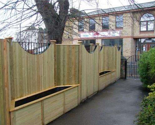 Panel Fencing Tonbridge Fencing